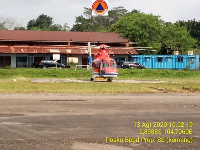 Kunjungan Deputi BNPB Pusat ke Palembang