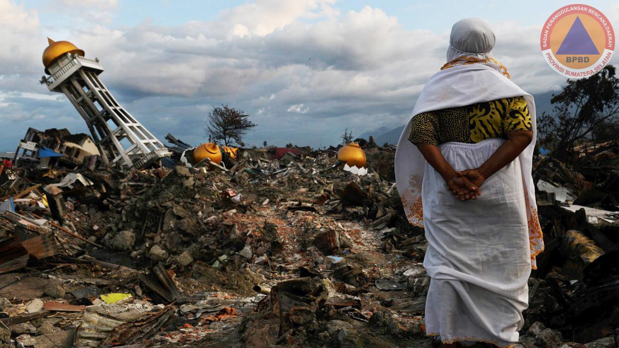 <p>ini adalah bencana tsunami</p>